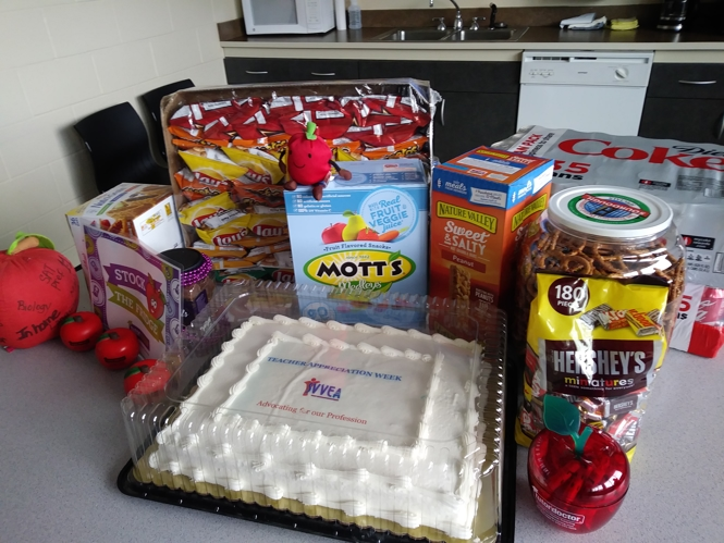 Teacher Appreciation Week Snacks