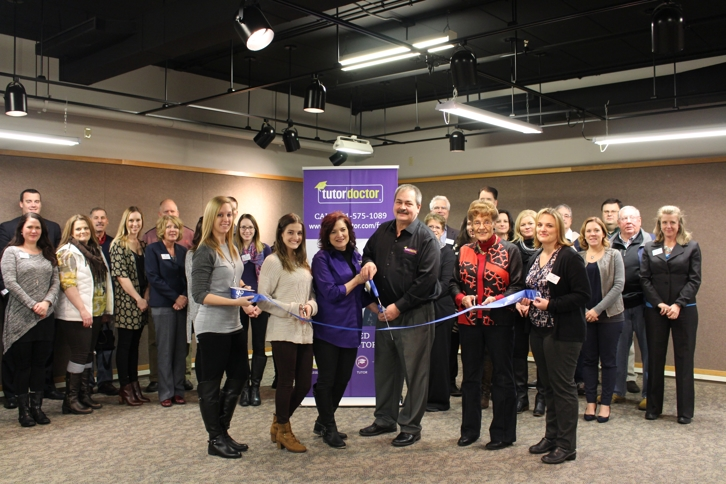 Ribbon Cutting at Tutor Doctor of Fargo